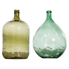Vintage French Glass Demijohn, Pair of Demijohn 'Model 957.11'