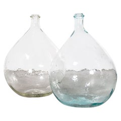 Vintage French Glass Demijohn, Pair of Demijohn 'Model 957.13'