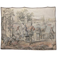 Vintage French Hanging Tapestry