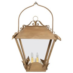 Vintage French Lantern Restored with American Sockets