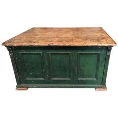 Vintage French Large Desk