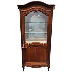 Vintage French Louis XV-Style Cherry Curio