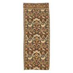 Vintage French Mechanical Jaquar Tapestry Panel