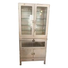 Vintage French Medicine Cabinet