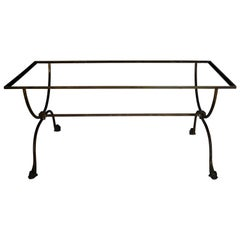 French Iron Coffee Table Base