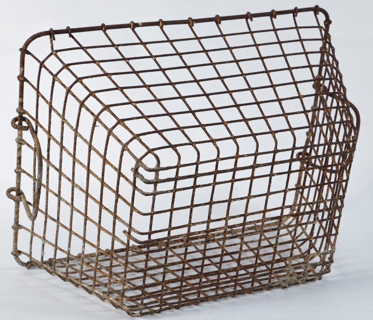 Vintage French Oyster Baskets, Set of Two, 20th Century For Sale 6
