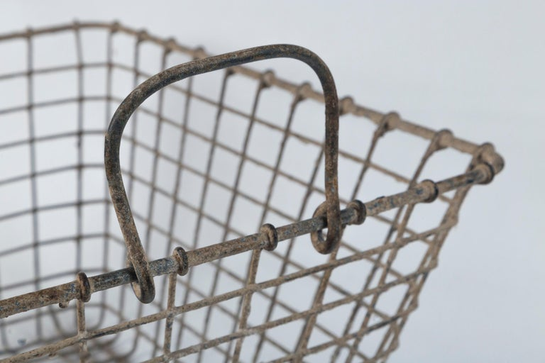 Vintage French Oyster Baskets, Set of Two, 20th Century For Sale 1