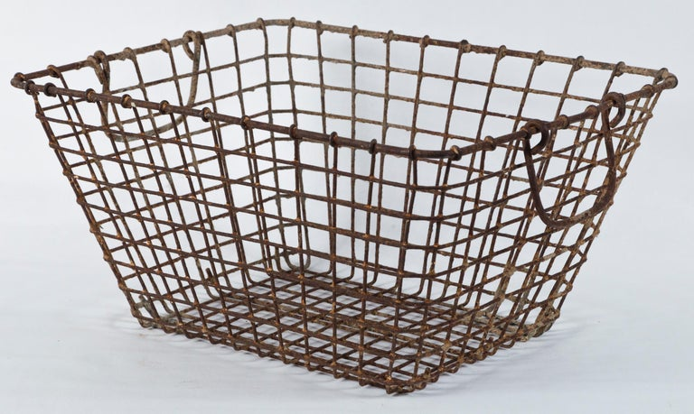 Vintage French Oyster Baskets, Set of Two, 20th Century For Sale 2