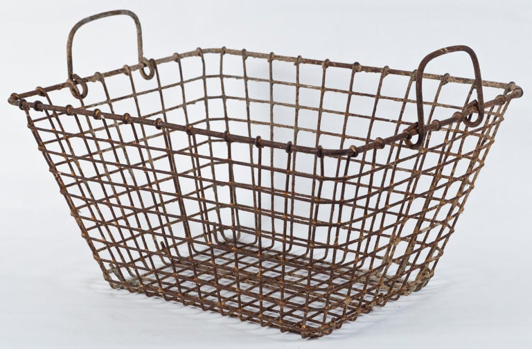 Vintage French Oyster Baskets, Set of Two, 20th Century For Sale 3