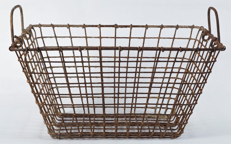Vintage French Oyster Baskets, Set of Two, 20th Century For Sale 4