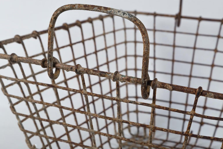 Vintage French Oyster Baskets, Set of Two, 20th Century For Sale 5