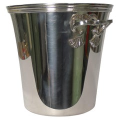 Vintage French Silver Plated Champagne Bucket / Wine Cooler