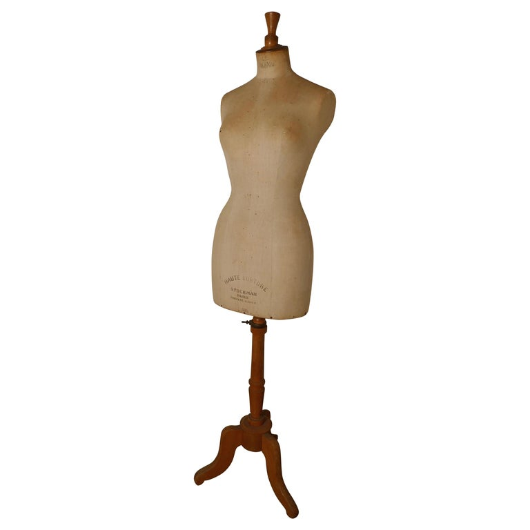 Vintage French Stockman Mannequin, English Size 14 For Sale