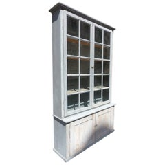 Vintage French Tallboy/Display Cabinet