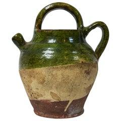 Vintage French Terracotta Confit Pot