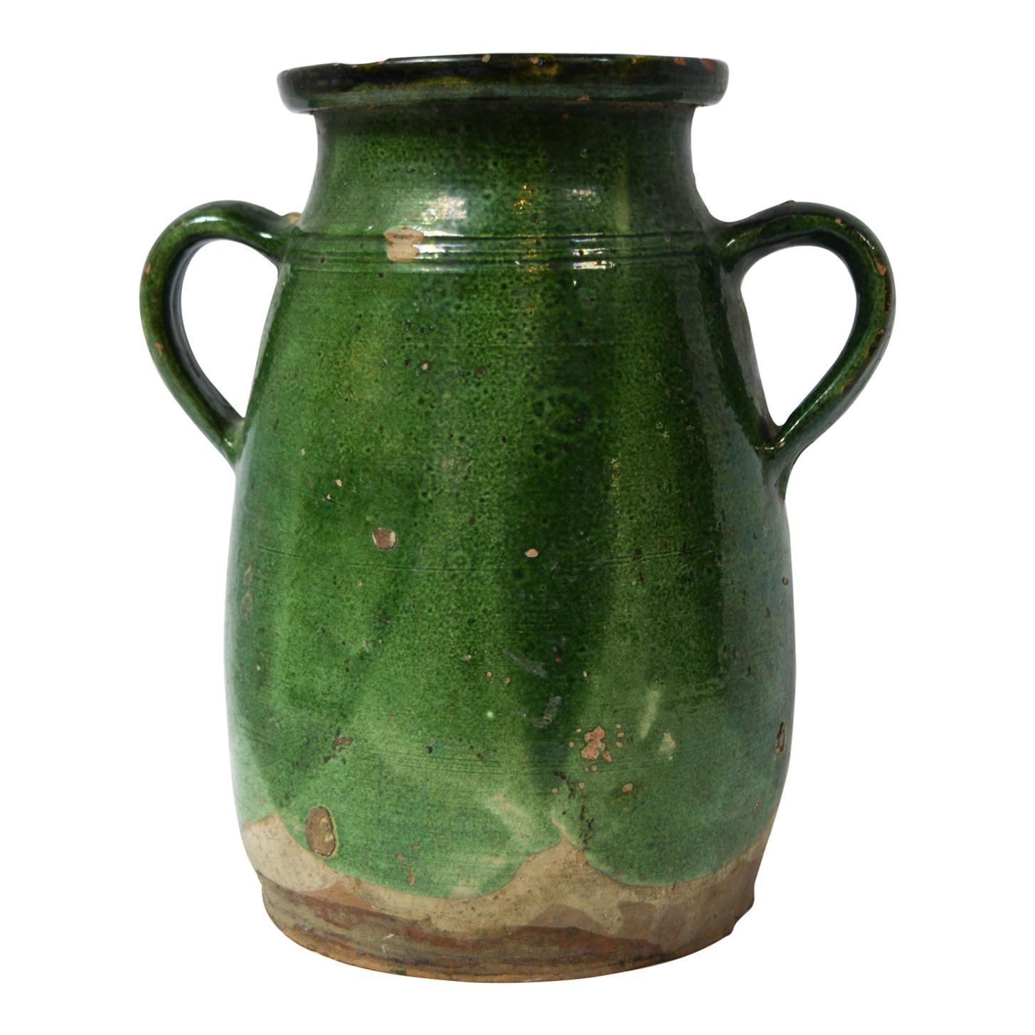 Vintage French Terracotta Vase