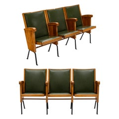 Vintage French Theater Seats
