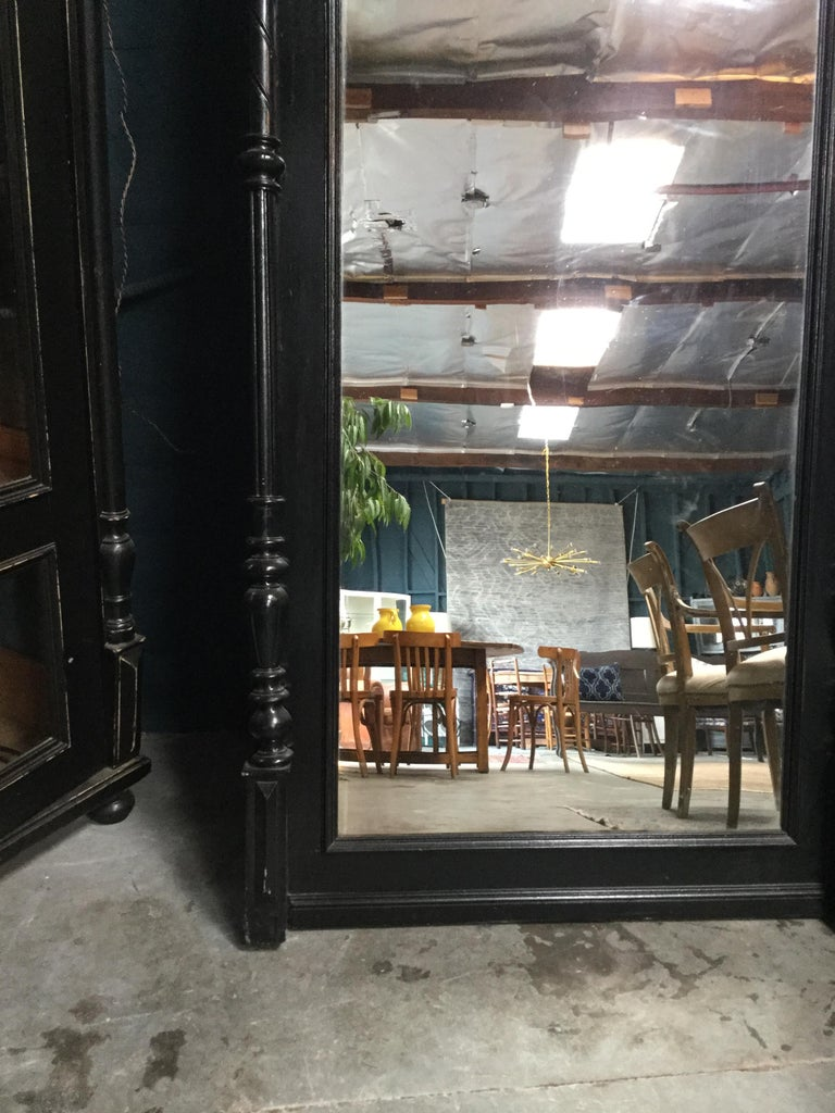 Vintage Full Length Mirror In Good Condition For Sale In Los Angeles, CA