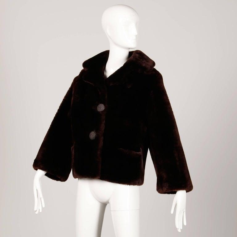 Vintage Fur Jacket In Excellent Condition For Sale In Sparks, NV