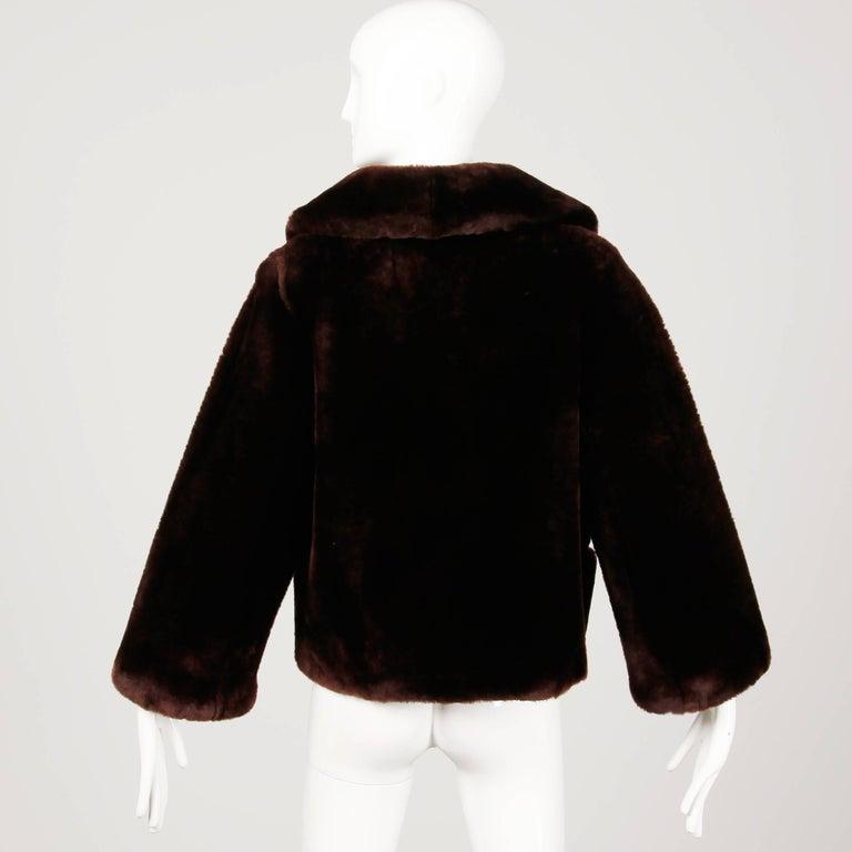 Women's Vintage Fur Jacket For Sale