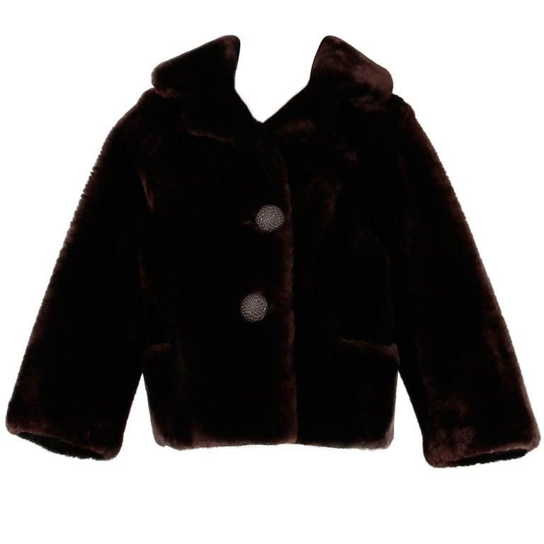 Vintage Fur Jacket For Sale 4