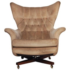 Vintage G Plan World's Most Comfortable Chair Tilt and Swivel Armchair, 1962
