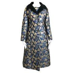 Vintage Galanos Brocade 3pc Suit Top, Long Vest & Skirt M