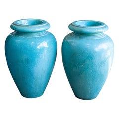 Vintage Galloway Garden Urns