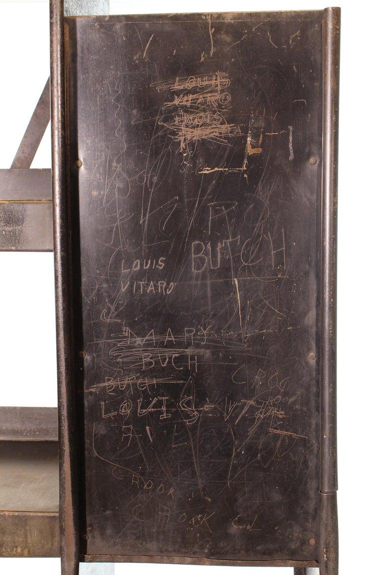 Vintage Gargoyle Mobil Oil Metal Display Rack For Sale At