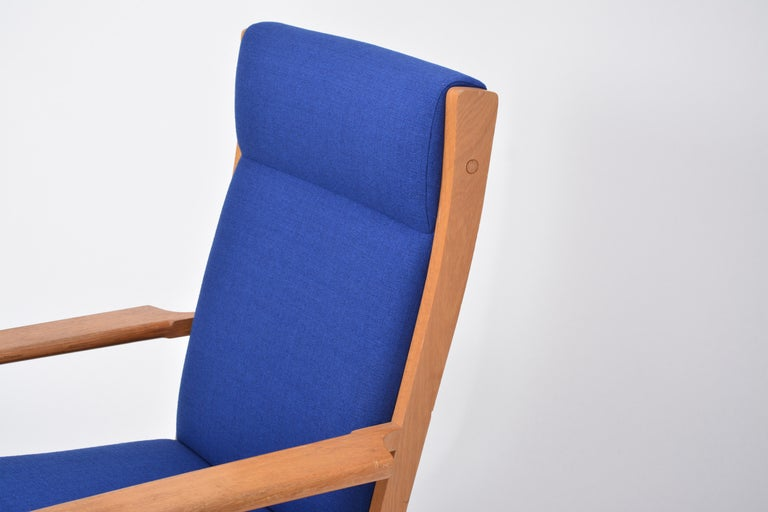 Vintage Ge 181 a Lounge Chairs by Hans Wegner for GETAMA, Set of Two For Sale 4