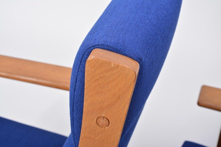 Vintage Ge 181 a Lounge Chairs by Hans Wegner for GETAMA, Set of Two For Sale 6