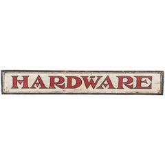 Vintage General Store Hardware Sign