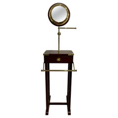 Vintage Gentelman's Campaign Style Barbiere with Articulating Mirror