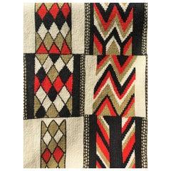 Vintage Geometric Textile