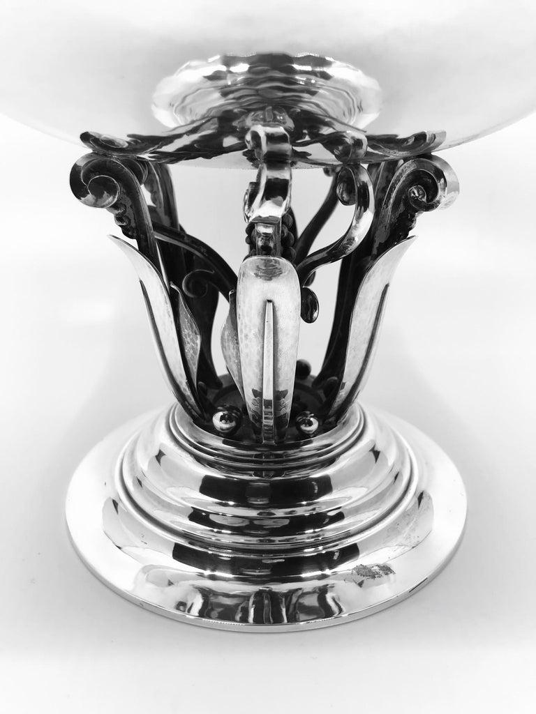 vintage georg jensen bowl 196 by johan rohde for sale at. Black Bedroom Furniture Sets. Home Design Ideas