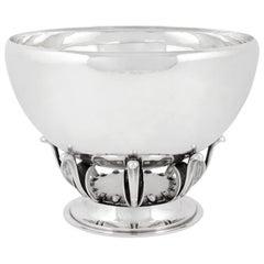 Vintage Georg Jensen Bowl 584B Oscar Gundlach-Pedersen