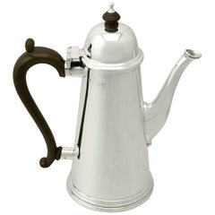 Vintage George I Style 1961 Sterling Silver Coffee Pot