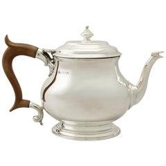 Vintage George I Style Sterling Silver Teapot by Elkington & Co.