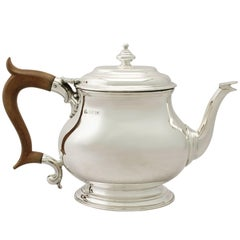Vintage George I Style Sterling Silver Teapot