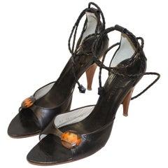 Vintage Georgina Goodman Leather Sandles
