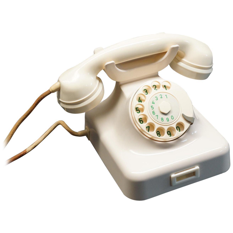 Vintage German Bakelite Table Phone