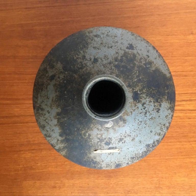 Late 20th Century Vintage German Ceramic UFO Vase from Otto Keramik, 1970s For Sale