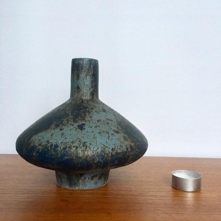 Vintage German Ceramic UFO Vase from Otto Keramik, 1970s For Sale 3