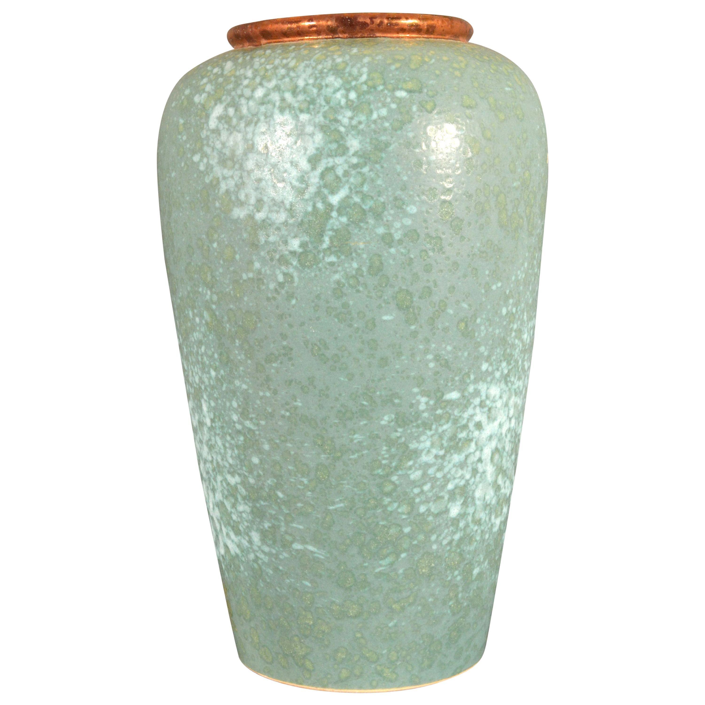 German Mid-Century Modern Art Pottery Vase, Scheurich Keramik, West Germany