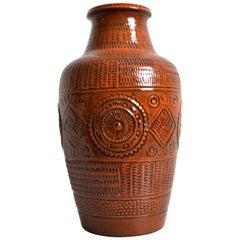 Vintage German Pottery Mid Century Bay Ceramic Vase 'Contura', 1960s
