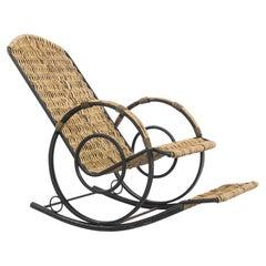 Vintage German Rocking Chair