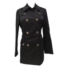 Vintage Germano Zama Black coat