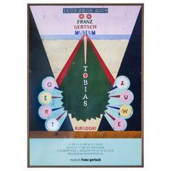Vintage Gert und Uwe Tobias Museum Exhibition Poster, Switzerland, 2009