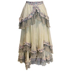 Vintage Ghost Skirt