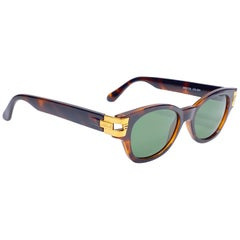 Vintage Gianni Versace Versus Wayfarer Style Sunglasses 1990's Made in Italy
